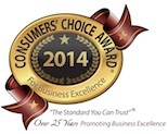Consumers Choice Award 2014