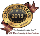 Consumers Choice Award 2013